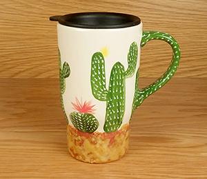 Calabasas Cactus Travel Mug